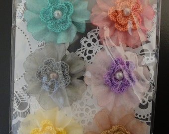 Prima Flowers - Jeunne Collection - Crochet