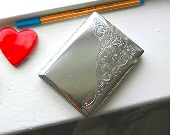 Cigarette Case Wallet - The Trudy. Brushed Paisley