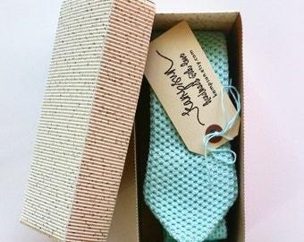 Wholesale clothing for men, mens knit mint green necktie