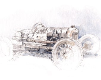 Bobtail T Ford - Limited Edition Print