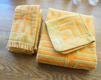 Cozy Towels Woven By Fieldcrest Vintage Bath Towels