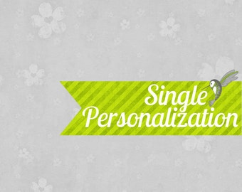 Personalize ANY Blank Digital Download File
