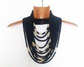 black tribal basic necklace