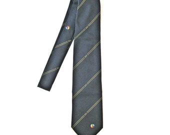 "Vintage men's necktie Men's tie ""Renie Leide"" Made in Germany 90s"