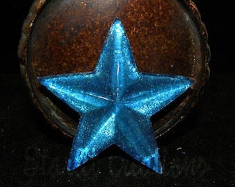 3 inch resin star brooch pin cosplay prop