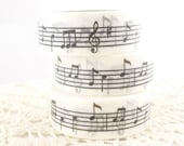 Musical Notes G-Clef Washi Tape - DD1381