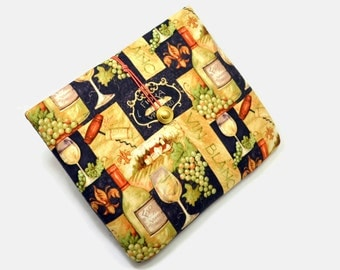 Tablet Case, iPad Cover, Wine, Kindle Fire Sleeve, 7, 8, 9, 10 inch Tablet Cover, Sleeve, Cozy, Handmade, FOAM Padding, Holiday Gift, Grape