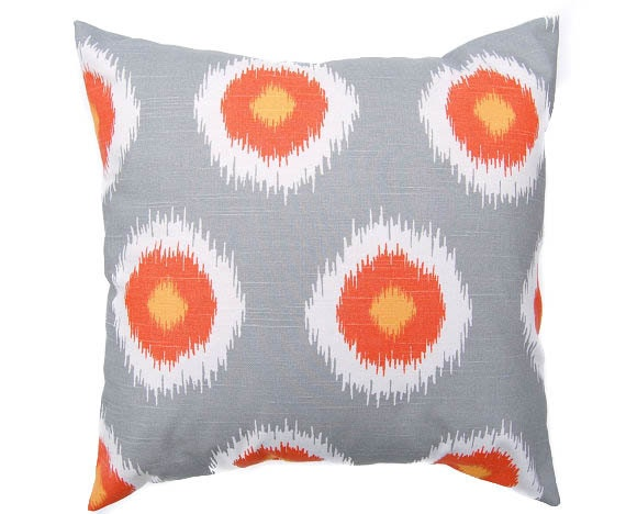 Items similar to Gray throw pillow cover One 16