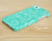 Mint Green Graphic Floral iPhone 6S case iPhone 6 case iPhone 6S Plus case iPhone 6 Plus case iPhone 5S case iPhone 5 case iPhone 4S case