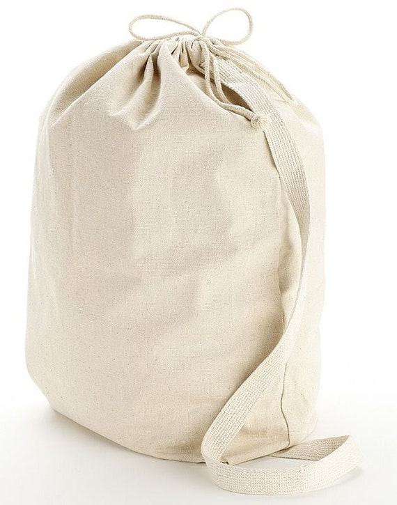 Items Similar To Heavy Duty Natural Canvas Laundry Bag