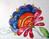 Digital art, digital download, flower, floral, flowers,colorful flowers, fantasy flower, digital download