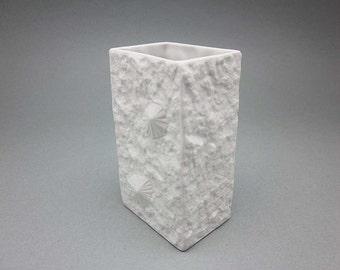 Mid Century Modern bisque vase by Hutschenreuther (Germany, 1960s)