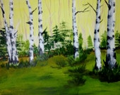 Sunny Afternoon - original painting - aoteam