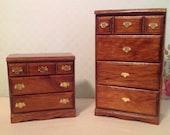 Miniature Furniture Dressers