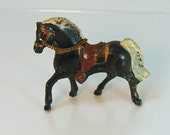 Souvenir - Painted - Gaited - Western Horse - Black - 2 15/16""