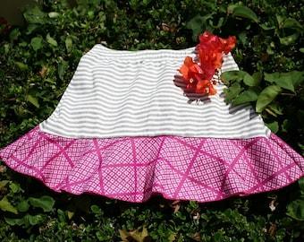"""Hawaiian Running Skirt """"Sweet Lychee"""""""