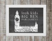 National Lampoon's European Vacation Pop Culture Print - 'look kids big ben parliament'