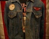 Vintage Wrangler Jean Denim Jacket Size 42