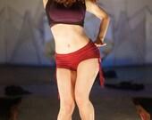 Booty Shorts, organic hemp, yoga shorts, yoga, workout, running shorts, harmonic threads