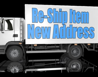 USPS First Class shipping or Re-Ship My Item - Insuffient Address