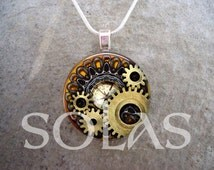 Steampunk Inspired Jewelry - Victorian Style Jewelry - Steampunk Inspired - Steampunk 1-6