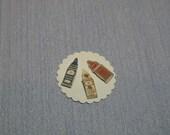 Gaël Miniature Vintage Needle Cases sewing , haberdashery accessories   1:12 Dollhouse Miniature magazine