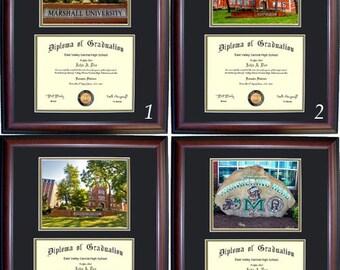 Marshall University Diploma Frame