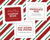 STOCKING STUFFER COUPONS for Kids — 34 Unique, Funny Printable Quality Time Coupons for Your Kids' Christmas Stocking, pdf