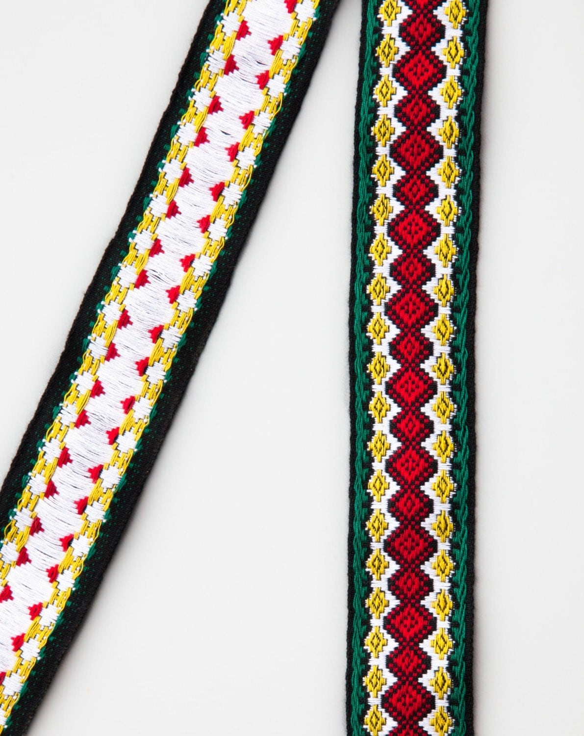 Yards embroidered vintage ribbon trim native style