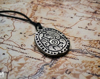 House of Telvanni Elder Scrolls inspired shield necklace pendant by Mortiis.M