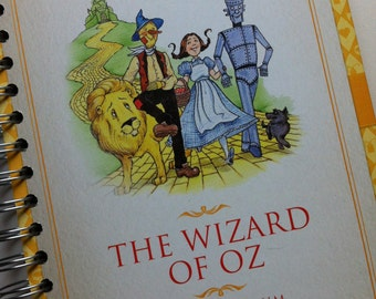 The Wizard of Oz Recycled Book Journal
