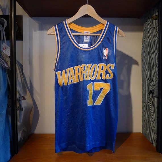 Warriors Come Out And Play Logo: Vintage GOLDEN STATE WARRIORS Jersey 17 Chris By