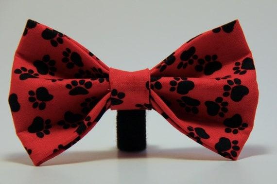 Doggie Bow Tie Paw Print, bowtie, bow tie, paw print