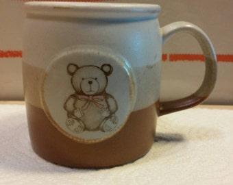 Collectible Otagiri Larger Teddy Bear Stoneware Mug