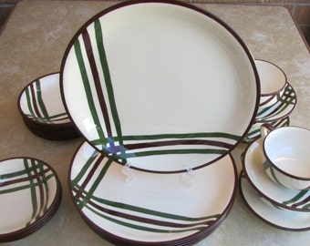 Be-Lair Metlox Poppytrail Vernonware 5 PC Place Setting for 4