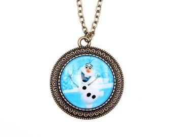 Necklace Snow Queen OLAF 2525C