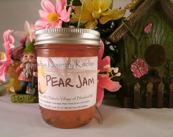 Homemade Pear Jam by Beckeys Kountry Kitchen jam jelly preserves fruit spread