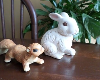 Grasslands Road Ceramic Decorative Display Easter/Wildlife Bunny Rabbit