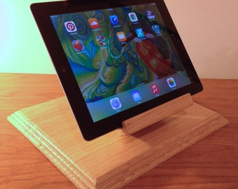 Easel Style Tilting iPad Air Stand for Square POS and other Card Readers