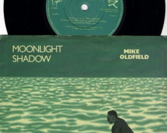 "MIKE OLDFIELD Moonlight Shadow 1983 Uk Issue 7"" 45 rpm Vinyl Single record rock pop 80s music Vs586  *SALE 45s*"