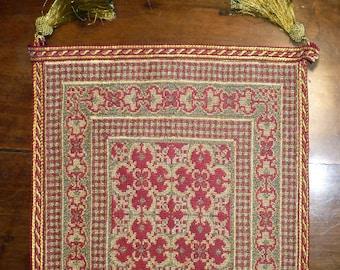 Handmade cross-stitched runner - 15234 - OOAK