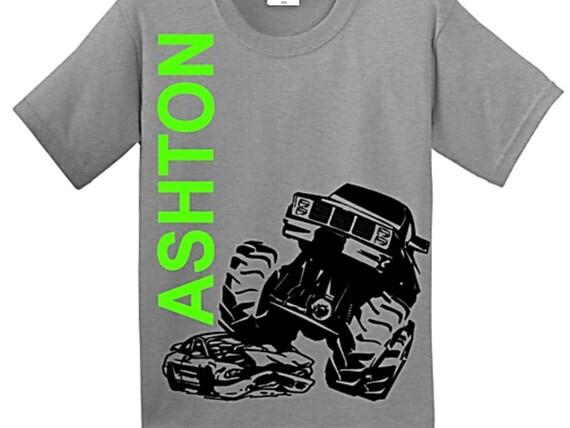 Monster Truck Birthday Shirt Monster truck shirt Monster