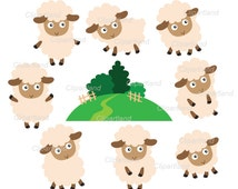 INSTANT DOWNLOAD. Sheep 6. Personal and commercial use.