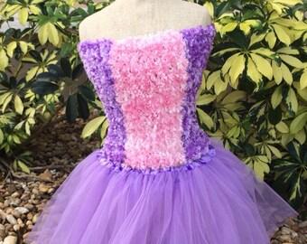 Princess Dress, Rapunzel Tutu, Rapunzel Dress, Purple tutu, Tangled Dress, Rapunzel Costume, Princess Costume, Fairy Costume