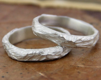 Engagement ring organic, wedding engagement ring rustic silver ring, Handcrafted jewelry