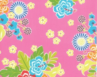Moda - Sanibel by Gina Martin Hibiscus in Pink by the Yard