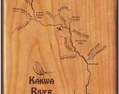 Fly Box - KAKWA RIVER MAP...