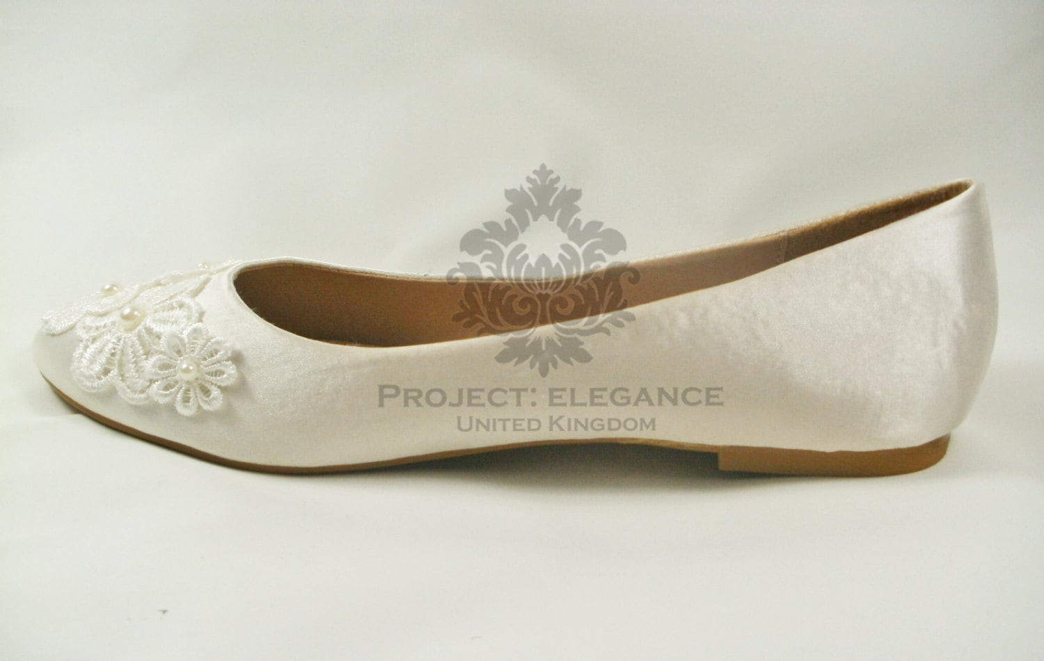 Ivory Wedding Shoes Flat Ivory Bridal Shoes Flat Lace Wedding Shoes Wedding Ballet Flats