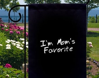 I'm Mom's Favorite New Small Garden Yard Flag Decor Gifts Events Fun