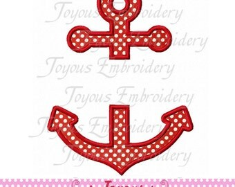 Instant Download Anchor Applique Embroidery Machine Design NO:1680